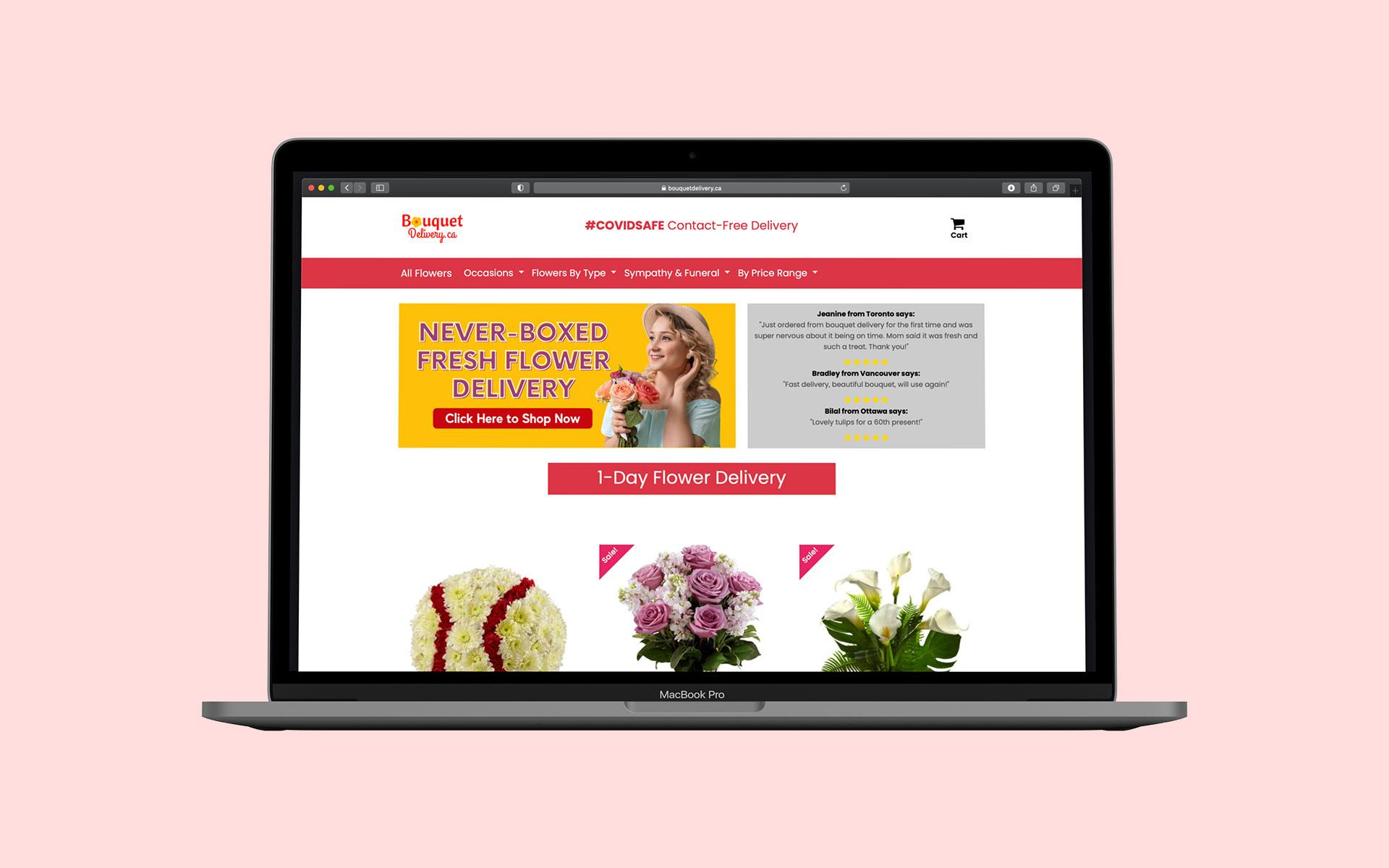 Bouquet Delivery Canada